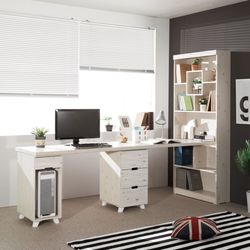 I205 본체형800 +서랍형 h 책상 4colors