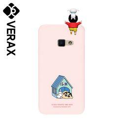 아이폰13PRO 프로 짱구 흰둥이집 하드 케이스 KP027