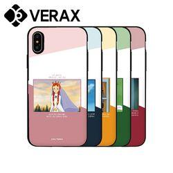 아이폰13PRO 프로 카드 빨간머리 하드 케이스 KP017