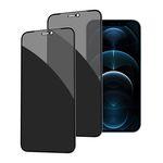 2매) 아이폰 12 프라이버시 강화유리 화면보호필름