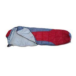 야외용 캠핑 후드형 1인용 침낭 1.6kg