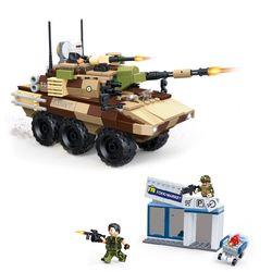 GUDI 국경수비대 무장장갑차 블럭 조립 호환 선물