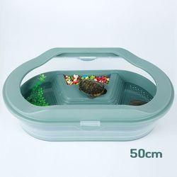 고운물 개방식 분리식 2층 거북이 전용어항 (50cm)