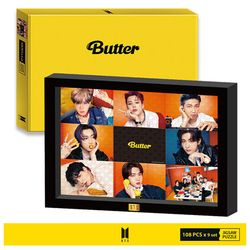 BTS 버터 직소퍼즐 108피스 9종 BUTTER 액자세트