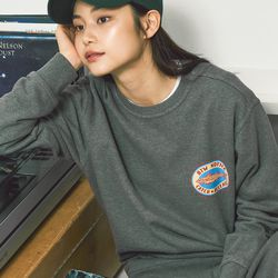 캐치앤릴리즈 스웨트 셔츠 (다크그레이)