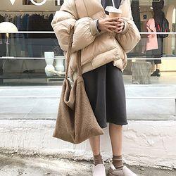 비엔나 겨울 양털 숄더백 데일리 겨울가방