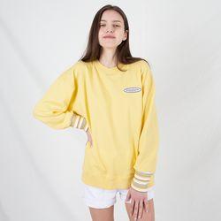 TOi 로고 스웨트셔츠 옐로우
