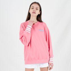 TOi 로고 스웨트셔츠 핑크