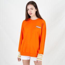 TOi 로고 스웨트셔츠 오렌지