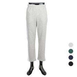 [쿠비코]옆라인 배색 포켓 기모 밴딩팬츠 COP-MZ238