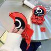 아이폰 11 pro max 캐릭터 실리콘 입체 젤리 케이스