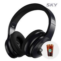 스카이 ANC-H100 블루투스5.0 유무선 헤드셋 노이즈캔슬링 25H