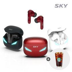 스카이 GA-S2X 팬텀 블루투스 5.1 저지연 게이밍 이어폰