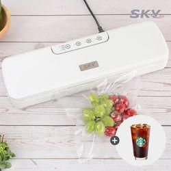 스카이 Ki-VS100 가정용 진공포장기 밀봉기 저소음 3단계 모드