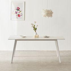 마리메종 플로 세라믹 식탁테이블 6인 원목다리