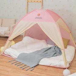 따뜻한 원터치 방한 온열 난방 실내 침대 캠핑 텐트
