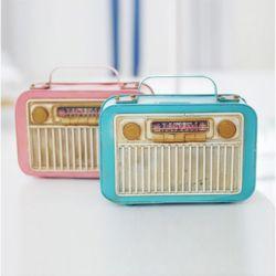 빈티지 라디오 저금통 2color 레스토랑 개업 선물 미