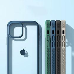 아이폰 13 12 11 pro max x xr xs 반투명 젤리 케이스