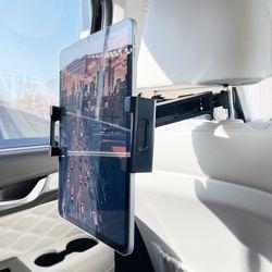 차량용 헤드레스트 스마트폰 태블릿 안전 거치대