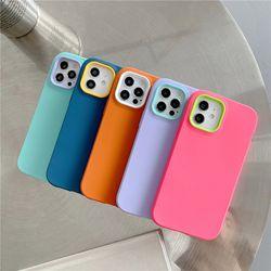 아이폰 13 12 11 pro max x xr 파스텔 실리콘 케이스