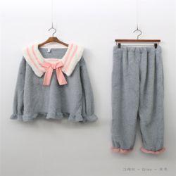 여자 겨울 달의요정 수면 트윈룩 귀여운 잠옷세트