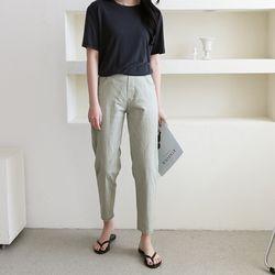 여자 솔트 스트레이트 일자핏 핏좋은 20대 30대 팬츠