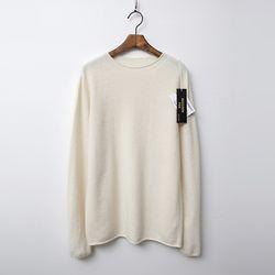 Whole Raccoon Fox Wool B Sweater