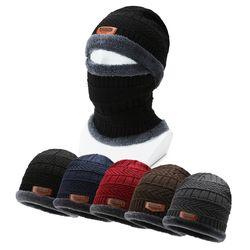 털모자 넥워머 겨울 모자 비니 남자 여성 방한 목토시