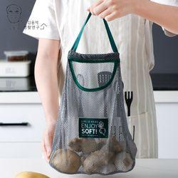 (2개입) 양파 마늘 감자 다용도 야채 채소 보관망 메쉬망