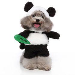 하이가이 강아지 코스프레 옷 판다 코스튬
