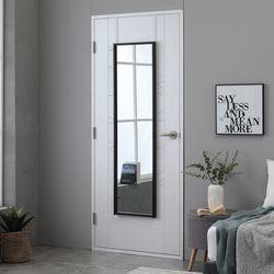준우드 심플리 문걸이 전신거울 400 x 1500