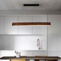 아라비아 우드라인 LED 식탁등 펜던트조명 30W