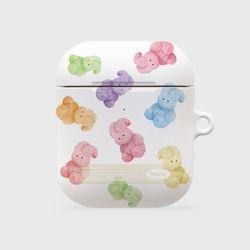 rainbow toy windy pattern [hard 에어팟케이스]