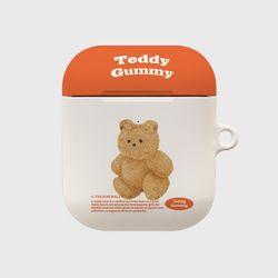 warm color teddy gummy [hard 에어팟케이스]