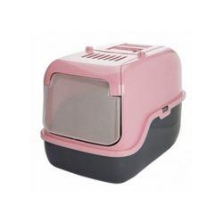 고양이 화장실 푸르미 3-Door 후드형 핑크