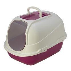 고양이 화장실 모데르나 메가 콤피 화장실 핑크