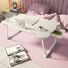 구디푸디 곰돌이 베드 좌식 접이식테이블 노트북태블릿 침대책상