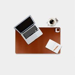 직장인필수 사무실 책상 발열 데스크 가죽패드 3color