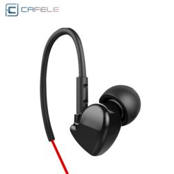 cafele 커널 클립형 이어폰 귀걸이형 헤드셋+파우치