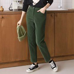 N Corduroy Semi Baggy Pants