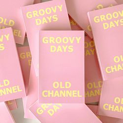 GROOVY DAYS DIARY - Cotton Pink