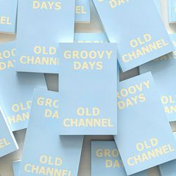 GROOVY DAYS DIARY - Cotton Blue