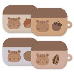 몬드몬드 다람쥐 에어팟 3세대 하드 케이스 키링 커버 에어팟3