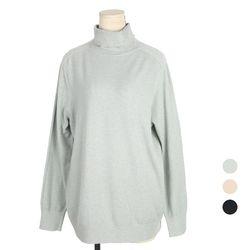 [네오쿠비카]사이즈 캐시미어 터틀넥 티셔츠 A197