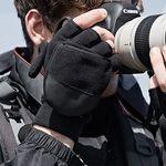 2in1 오픈형 벙어리 남성 겨울 방한 장갑