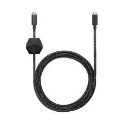 DESK CABLE PRO BLACK(USB-C TO C)DCABLE-C-CS-BLK-NP