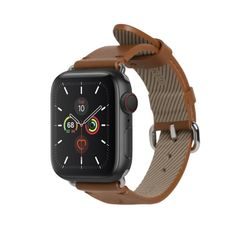 LEATHER STRAP FOR APPLE WATCH BROWN 40mm