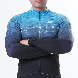 MAXIMUM 남성 겨울용 자전거 기모자켓 MAXMGUP01 블루