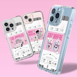 에스더버니 보딩패스 울트라핏 케이스 아이폰 갤럭시
