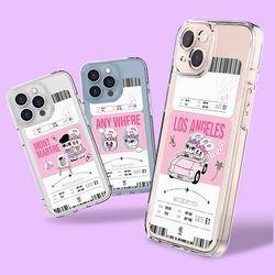 에스더버니 보딩패스 울트라핏 케이스 아이폰 13시리즈